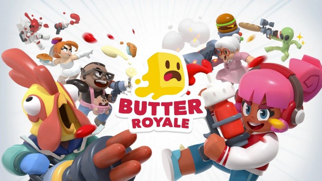 Logo and splash screen for Butter Royale